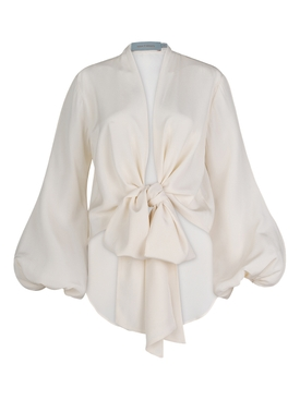 Honey Silk Blouse