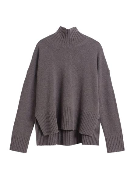 Co Slim Sleeve Boxy Sweater