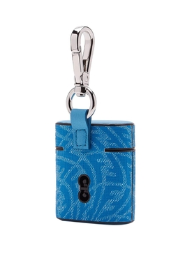 X Sarah Coleman Fisheye Logo AirPods Case Blue