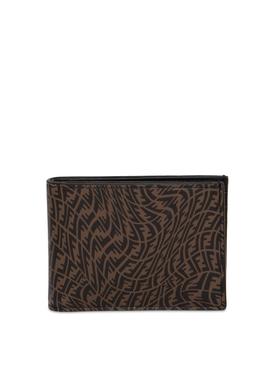 X Sarah Coleman FF Vertigo Wallet Brown