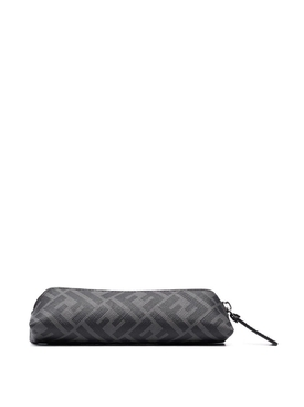 monogram pencil Pouch black