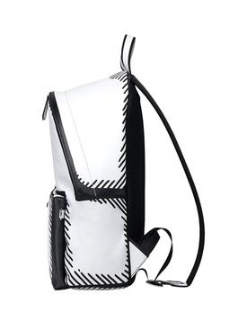 X Joshua Vides black and white backpack