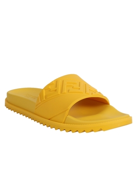Yellow Slide Sandals
