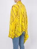 Balenciaga - Link Chain And Logo Print Blouse - Women