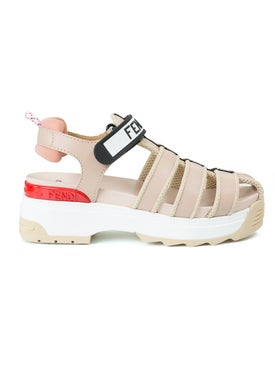 Fendi - Pink Trek Sandals - Women
