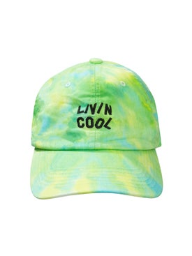 Livincool - Livincool X The Webster Exclusive Green Tie Dye Cap - Men