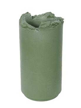Khaki Green opaque vase 30cm