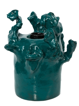 Teal Table Lamp Sculpture TEAL