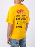 Off-white - Yellow Industrial Print T-shirt - Men