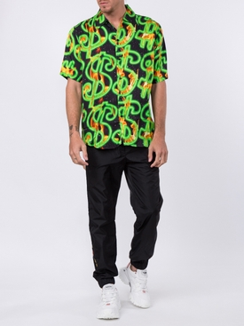 dollar sign Hawaiian shirt