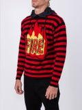 Moncler Grenoble - Striped Fire Hoodie - Men