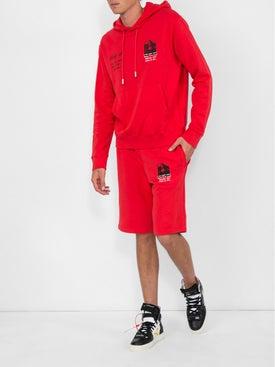 Off-white - Mona Lisa Shorts Red - Men