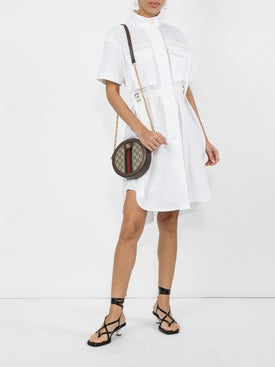Sacai - Poplin Cargo Dress - Women