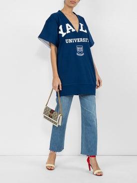 Calvin Klein 205w39nyc - Yale Deep V Short Sleeved Jumper - Women