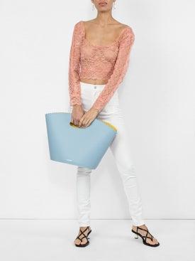 Gucci - High Waist Logo Patch Skinny Jeans - Women