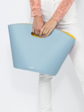Helen color block tote bag