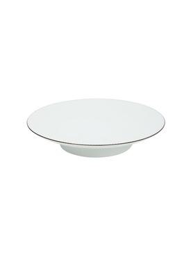 Porcelain desert plate WHITE