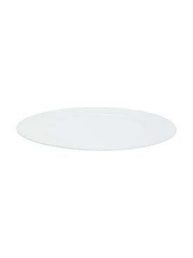 Porcelain Presentation Plate WHITE
