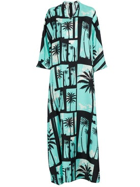 Fausto Puglisi - The Webster X Fausto Puglisi Piscina Silk Maxi Dress - Women