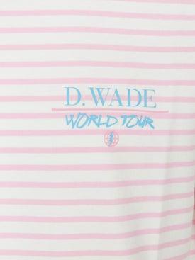 Bleacher Report - Br X Dwayne Wade World Tour Stripe T-shirt - Women