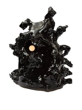 Harvey Bouterse - Abstract Sculpture Lamp Black - Home