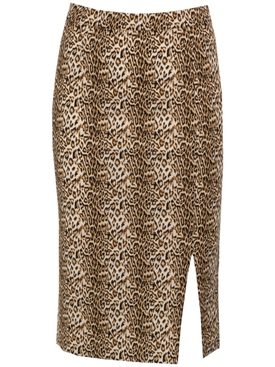 Leopard Romantica Skirt MULTICOLOR