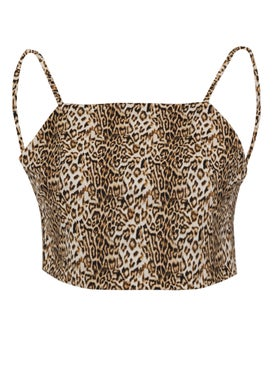 Marcia - Leopard Reversible Top - Women