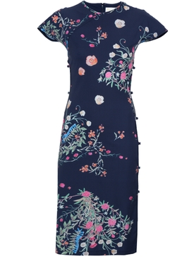 Marcia - Floral Tchikiboum Dress - Women