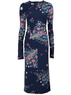 Floral Tchikiboum Cocktail Dress MULTICOLOR