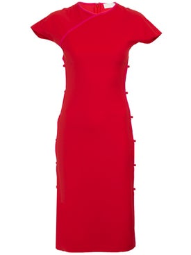 Marcia - Red Tchikiboum Dress - Women