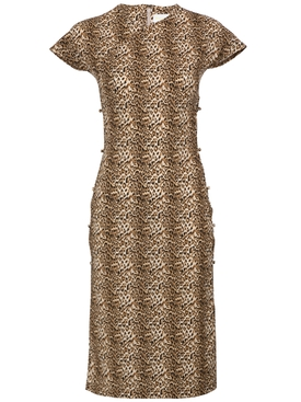 Leopard Tchikiboum Dress MULTICOLOR