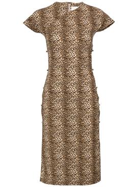 Leopard Tchikiboum Dress MULTICOLOR