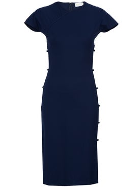 Marcia - Navy Tchikiboum Dress - Women