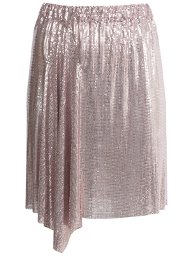 Paco Rabanne x The Webster Draped Mini Skirt PINK
