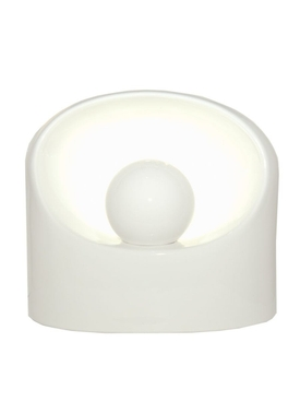 Large Ceramic White Lamp WHITE