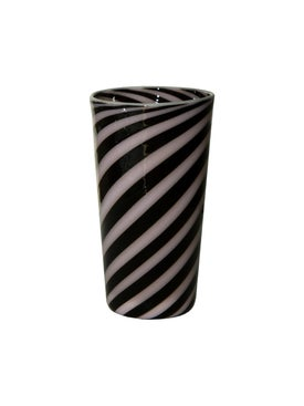 Laurence Brabant - Black And Rose Spiral Tumbler Multicolor - Home