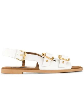 Stella Mccartney - White Buckled Pakri Sandals - Women