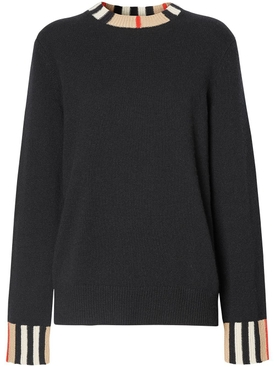 Cashmere Icon Print Sweater