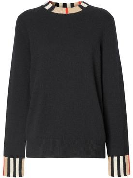 Cashmere Icon Print Sweater