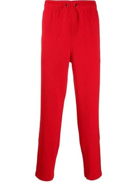 Burberry - Bright Red Track Trousers - Men