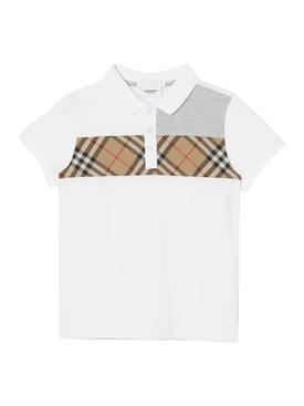 Kids Archive Print Polo Shirt