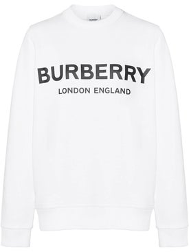 Burberry - Logo Print Sweatshirt - Women