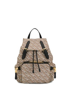 Burberry - The Medium Rucksack In Monogram Print Nylon - Women