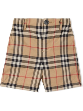 Kids Archive Print Shorts