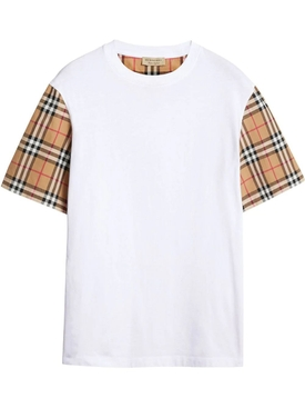 Icon check sleeve t-shirt