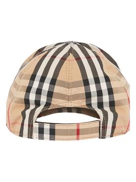 Kids Iconic print baseball cap