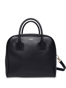 black cube tote bag