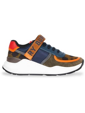 Burberry - Color Block Logo Sneakers - Men