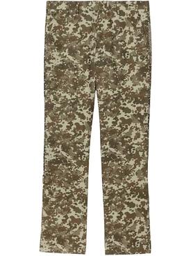 camouflage monogram pants