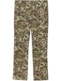 Burberry - Camouflage Monogram Pants - Pants